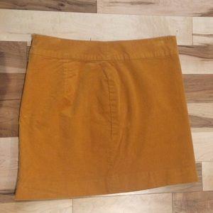 Banana Republic Corduroy Mini Skirt